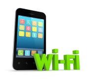 Wi-fi concept. Stock Photos