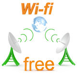 Wi-fi Royalty Free Stock Image