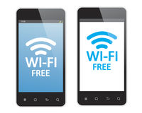 Wi fi is free Stock Photography
