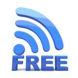 Wi-Fi geben frei Stockfoto