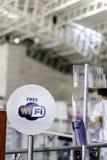 Wi-Fi geben Zeichen frei Lizenzfreies Stockfoto