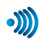 Wi fi icon Royalty Free Stock Image