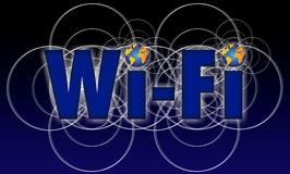 Wi Fi icon phone Royalty Free Stock Photography