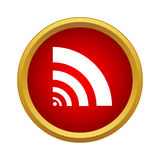 Wi fi icon in simple style Stock Photo