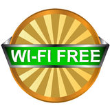 Wi fi logo Royalty Free Stock Images