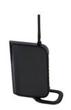 Wi-fi modem with antenna Royalty Free Stock Photos