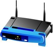 Wi-FI netwerkrouter Stock Foto's