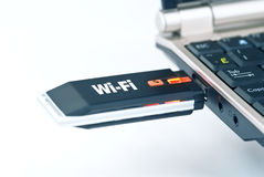 Wi-fi plug Royalty Free Stock Photos