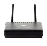 Wi-fi router close-up Royalty Free Stock Image