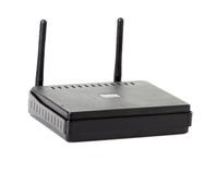 Wi-fi router close-up Stock Image