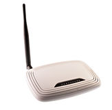 Wi fi router Stock Images