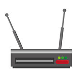 Wi-fi router modem icon Royalty Free Stock Image