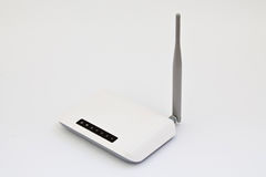Wi fi router. On a white background Stock Image