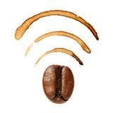 Wi-Fi sign Stock Image
