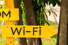 Wi-Fi sign Stock Images