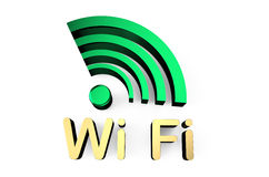 Wi-fi sign 4 Stock Photography