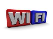 Wi-fi symbol Royalty Free Stock Image
