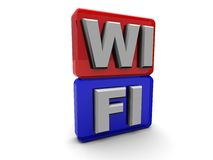 Wi-fi symbol Stock Photos