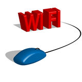 Wi Fi technology Royalty Free Stock Photos