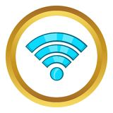 Wi-fi vector icon Stock Images