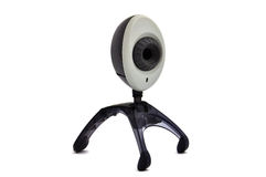 Wi-fi webcam. On a white background Stock Image