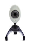 Wi-fi webcam. On a white background stock photography