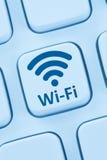 Wi-Fi WiFi hotspot connection internet online computer web Stock Photo