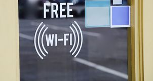 Wi-Fi for Wireless Internet for Free Royalty Free Stock Images