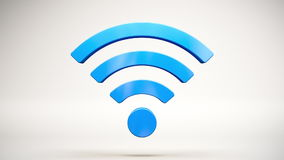 Wi-Fi Wireless Internet Icon Loop stock video footage