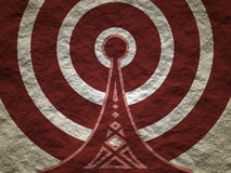 Wi Fi Wireless Network Symbol Royalty Free Stock Images