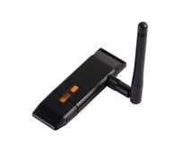 Wi-Fi Wireless USB Adapter Stock Photo