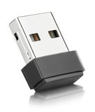 Wi-Fi Wireless USB Adapter Stock Photo