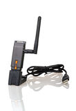 Wi-Fi Wireless USB Adapter Royalty Free Stock Photos