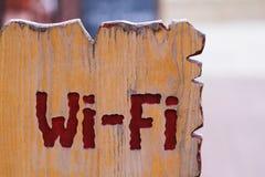 Wi-FI-Zeichen Stockfoto