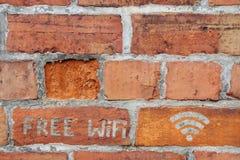 Wi libres fi Foto de archivo libre de regalías
