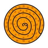 Wi się ręka rysującego logo logotyp dla dla druków plakatów sztandarów prezentacji tła majcherów szpilek t koszula artykułów ilustracja wektor