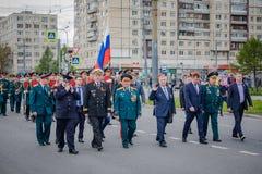 ?wi?teczni wydarzenia dalej mog? 8, 2019 w Nevsky okr?gu St Petersburg, Rosja obrazy stock