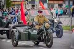 ?wi?teczni wydarzenia dalej mog? 8, 2019 w Nevsky okr?gu St Petersburg, Rosja zdjęcie stock