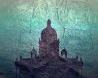 ?wi?tego Isaac katedra w ?wi?tym Petersburg Rosja royalty ilustracja
