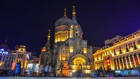 ?wi?tego Sophia katedra w Harbin, Chiny zdjęcia stock