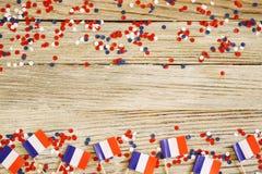 ?wi?to narodowe Lipiec 14 jest szcz??liwym dniem niepodleg?o?ci Francja, Bastille dzie? poj?cie patriotyzm, pami??, miejsce dla zdjęcie stock