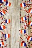 ?wi?to narodowe Lipiec 14 jest szcz??liwym dniem niepodleg?o?ci Francja, Bastille dzie? poj?cie patriotyzm, pami??, miejsce dla obrazy stock