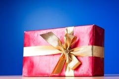 Świętowania pojęcie - Prezenta pudełko obrazy stock