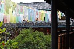 ?wi?tynia chabeta szczyt, tak?e zna? jako ??wi?tynia kamelie, monaster obok Baisha wioski, Lijiang, Yunnan, Chi obraz royalty free