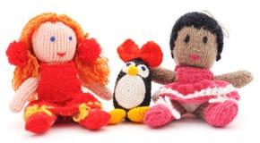 Wiązane zabawki Fotografia Royalty Free