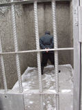 więzienie. zdjęcia royalty free