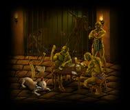 więzienie royalty ilustracja