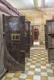 Więzienie Tuol Sleng ludobójstwa muzeum przy Phnom Penh Zdjęcie Royalty Free