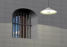 więzienie widok Fotografia Stock