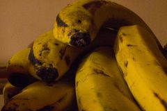 Wi?zka banany obrazy stock